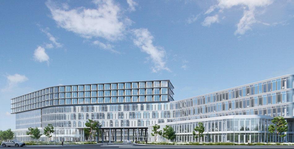 The Seamark Building CGI