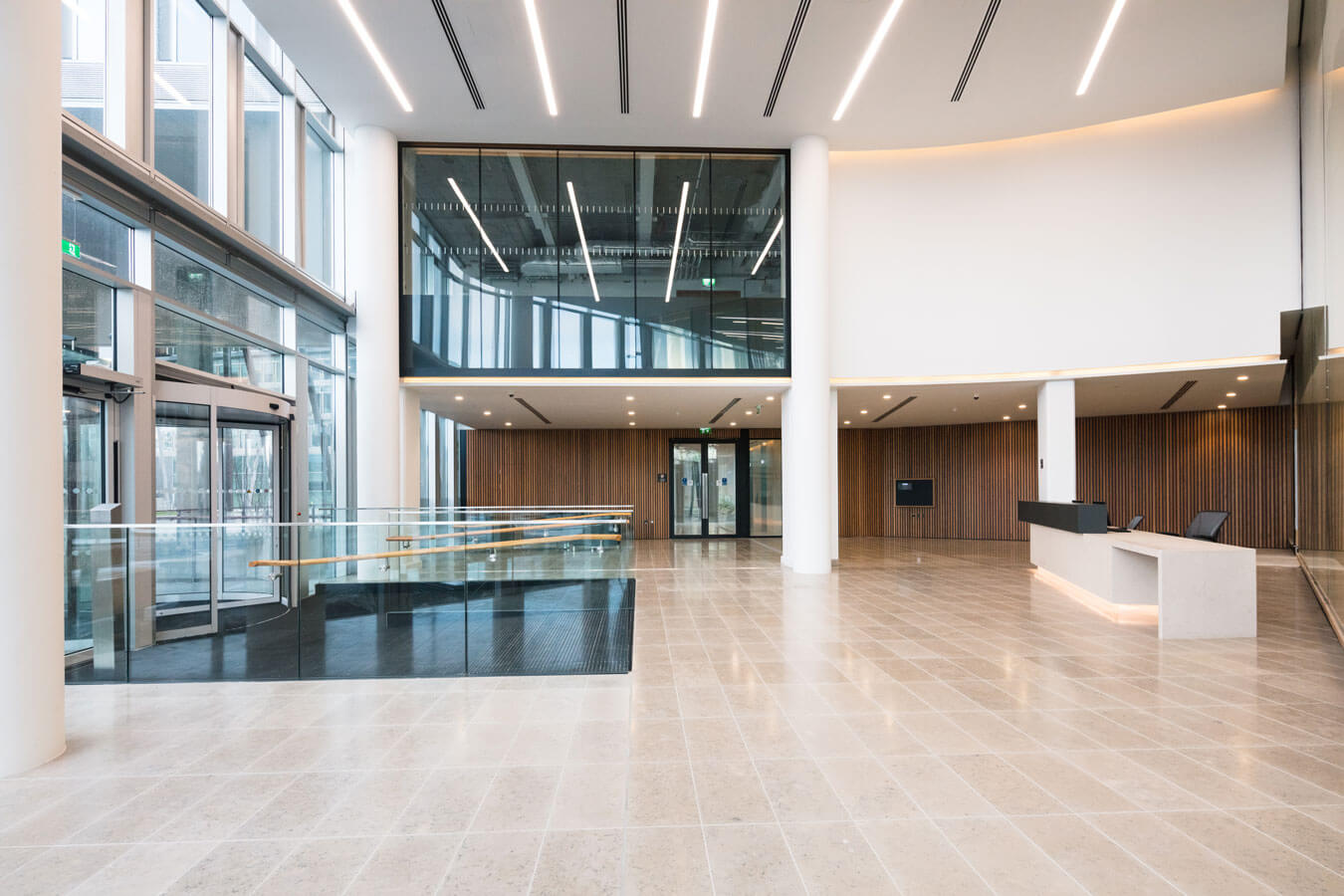 The Seamark Building Dublin Interior Lobby Are
