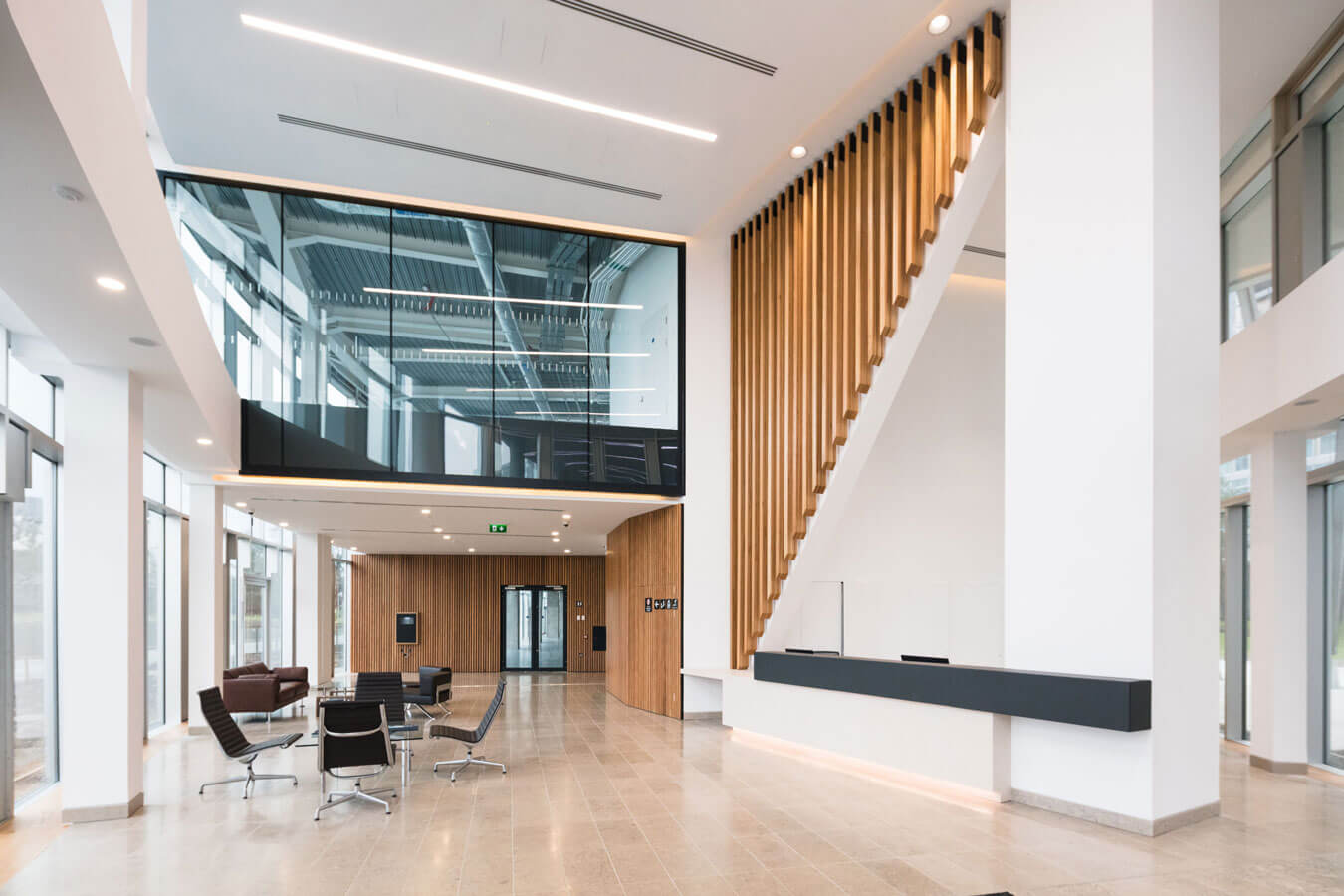 The Seamark Building Dublin Reception Area