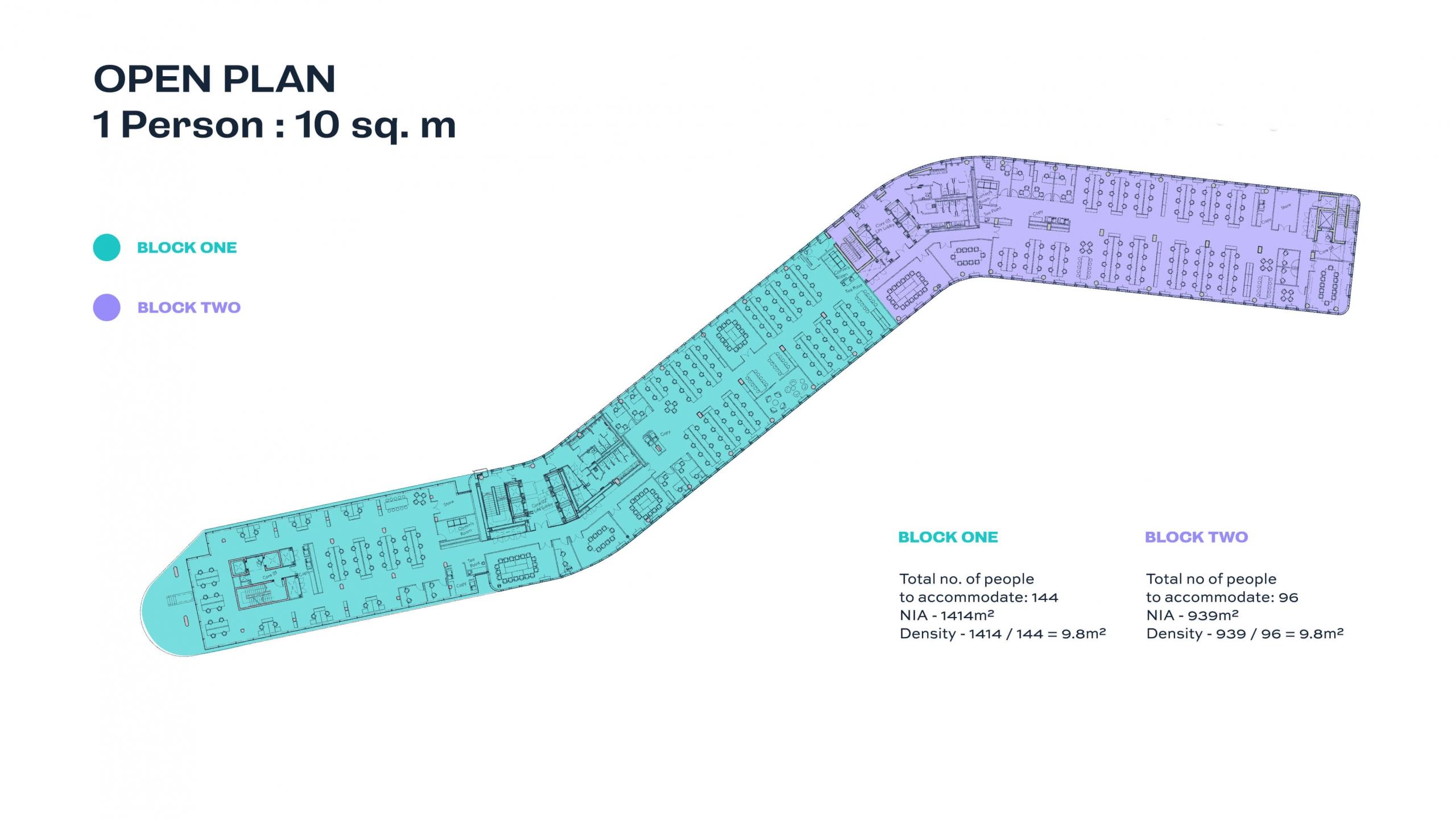 The Seamark Building Dublin Open Plan 1:10