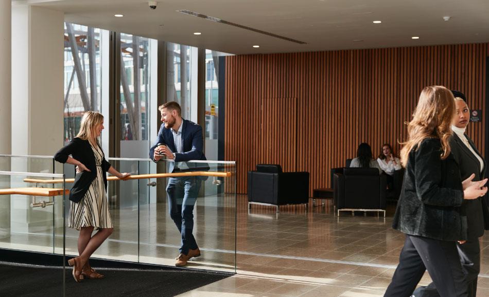The Seamark Building Foyer
