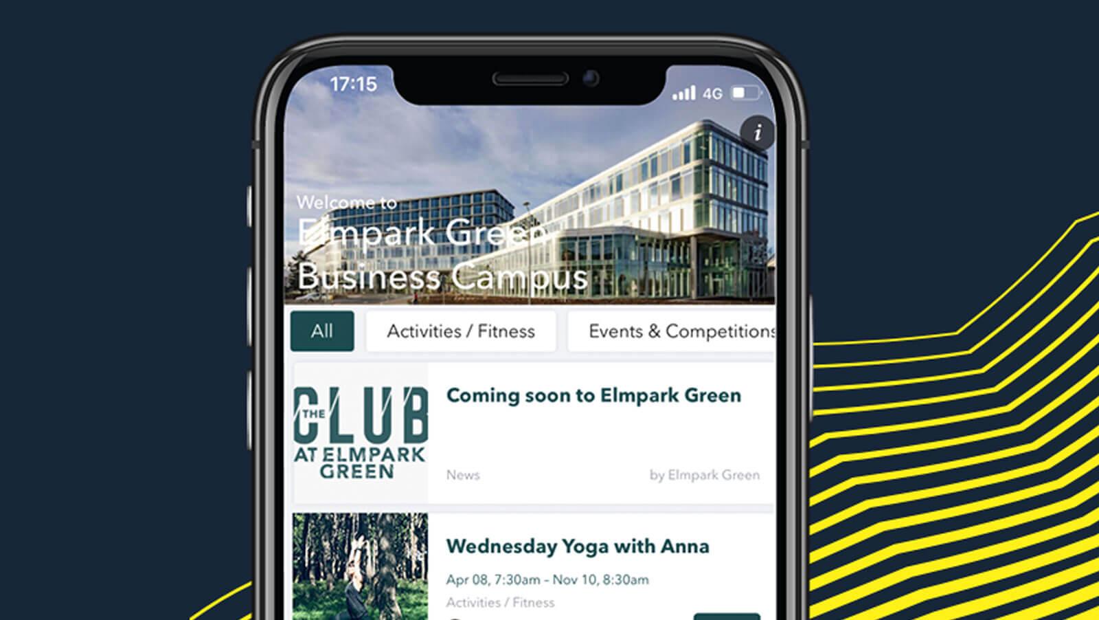 The Seamark Building Dublin Elmpark Green The Club App Screenshot